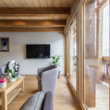 Salon - salle commune - chambre d'hotes-la ferme d'en haut - Saint jean de sixt - la Clusaz - le Grand-Bornand