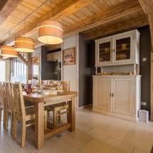 Salle à manger - salle commune - chambre d'hotes-la ferme d'en haut - Saint jean de sixt - la clusaz - le Grand-Bornand